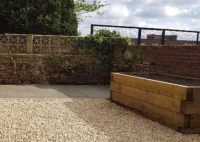 residential landscaping in north devon - project image