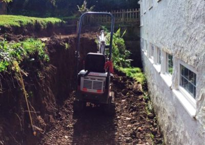 residential digger work