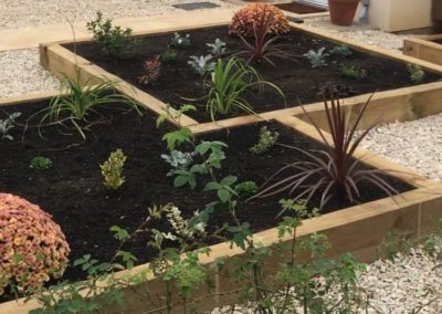 residential raised beds_planting